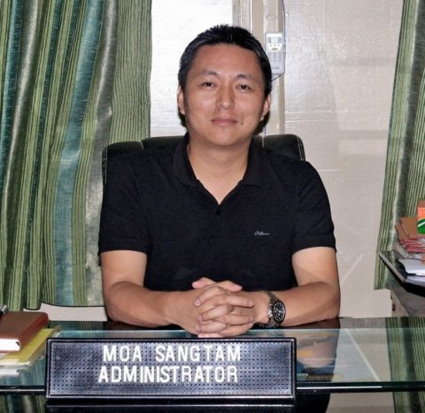 Moa Sangtam, Adminstrator , DMC